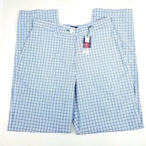 Tommy Hilfiger Tall Lightweight Pants 10 Tall